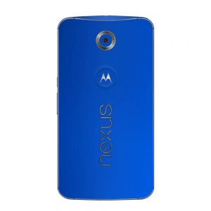 Skin Cool Deep Blue Google Nexus 6