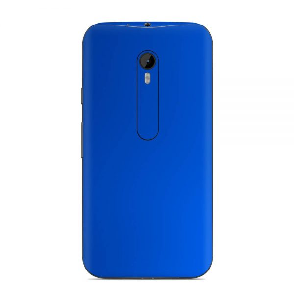 Skin Cool Deep Blue Motorola G3