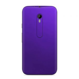 Skin Crazy Plum Motorola G3
