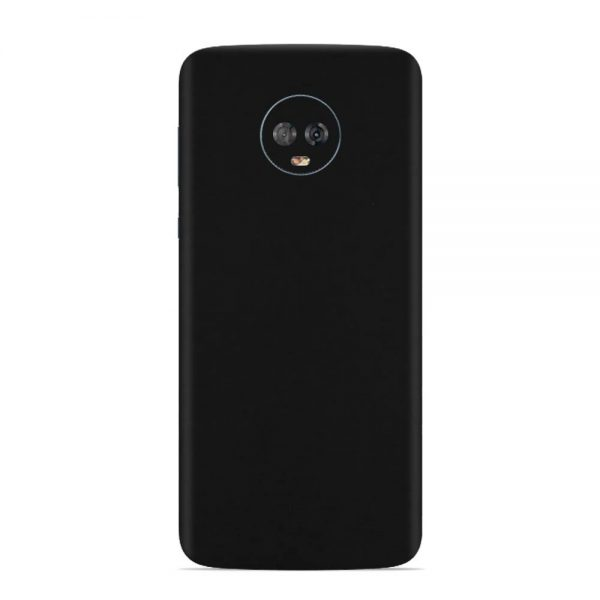 Skin Dead Black Matte Motorola Moto G6