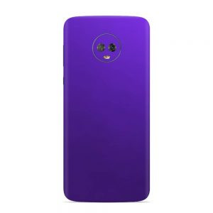 Skin Crazy Plum Motorola Moto G6