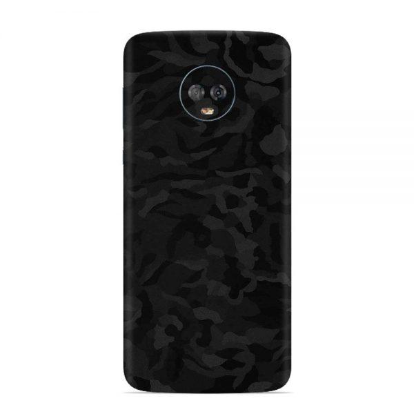 Skin Shadow Black Motorola Moto G6