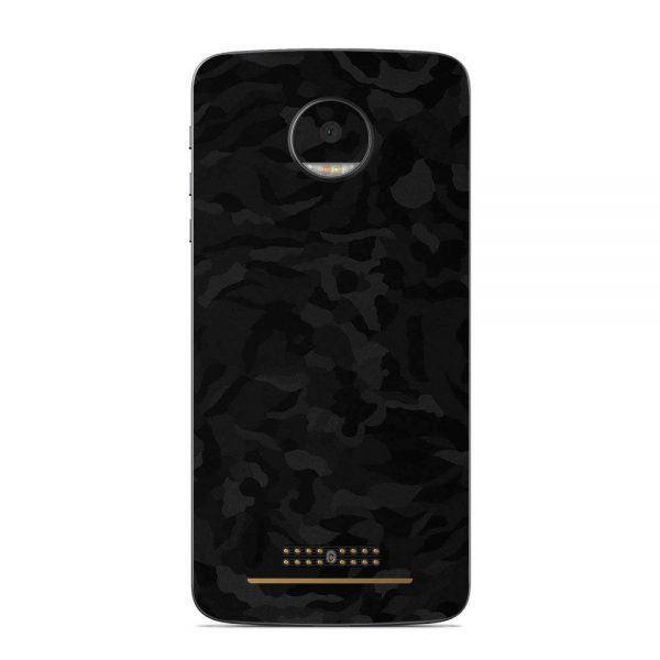 Skin Shadow Black Motorola Moto Z
