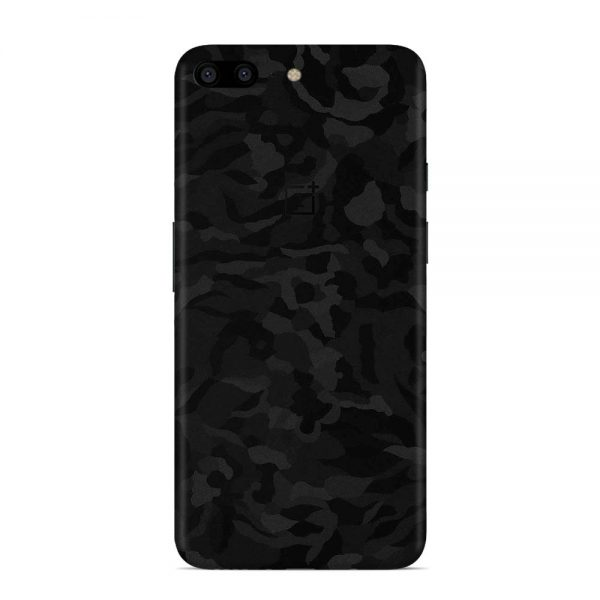 Skin Shadow Black OnePlus 5