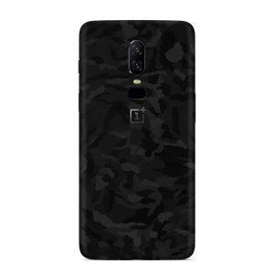 Skin Shadow Black OnePlus 6