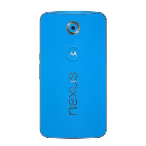 Skin Smurf Blue Google Nexus 6