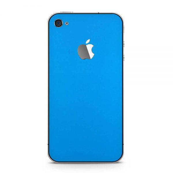Skin Albastru Riviera Mat iPhone 4