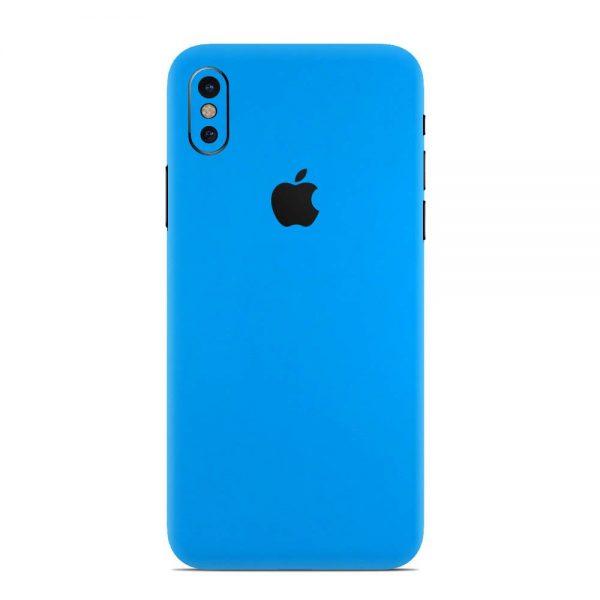 Skin Albastru Riviera Mat iPhone X