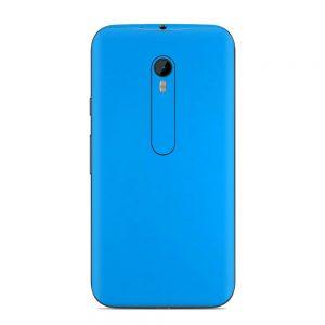 Skin Smurf Blue Motorola G3