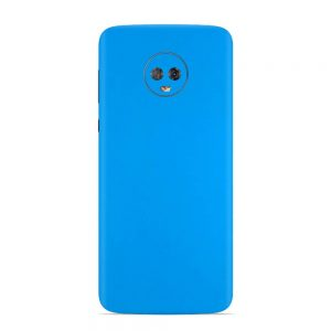 Skin Smurf Blue Motorola Moto G6