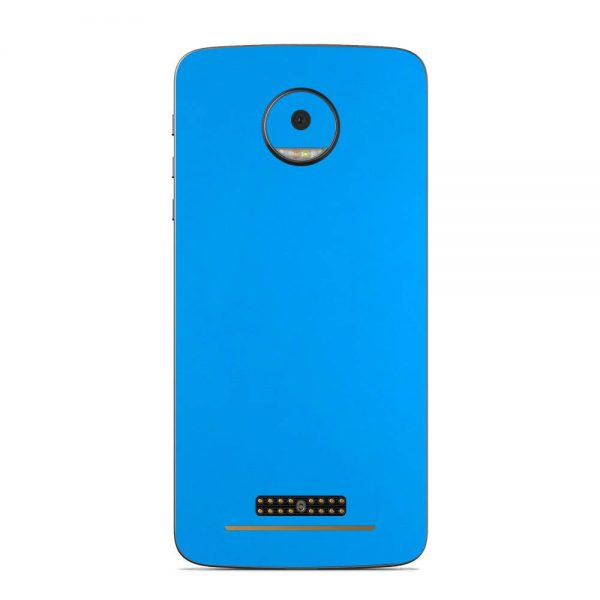 Skin Smurf Blue Motorola Moto Z