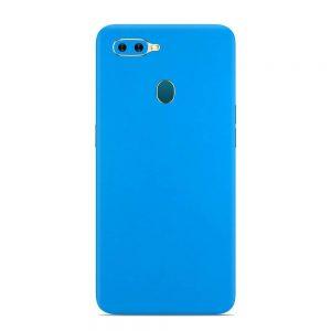 Skin Smurf Blue Oppo A7