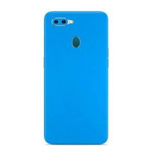 Skin Smurf Blue Oppo F9 Pro