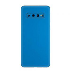 Skin Matte Smurf Blue Samsung Galaxy S10 / S10 Plus