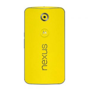 Skin Bumblebee Yellow Google Nexus 6
