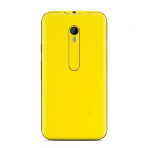 Skin Bumblebee Yellow Motorola G3