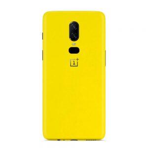 Skin Bumblebee Yellow OnePlus 6