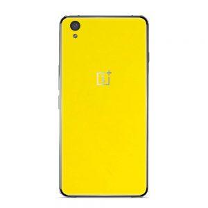 Skin Bumblebee Yellow OnePlus X