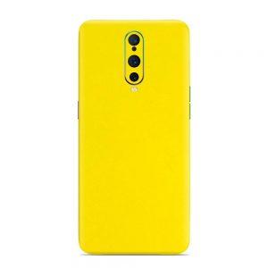 Skin Bumblebee Yellow Oppo F17 Pro
