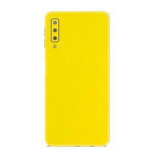 Skin Galben Lucios Samsung Galaxy A7