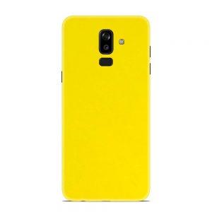 Skin Galben Lucios Samsung Galaxy J8