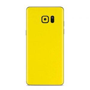 Skin Galben Lucios Samsung Galaxy Note 7