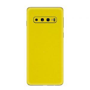 Skin Glossy Yellow Samsung Galaxy S10 / S10 Plus