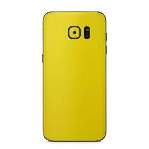 Skin Galben Lucios Samsung Galaxy S7 Edge