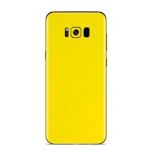Skin Galben Lucios Samsung Galaxy S8 Plus