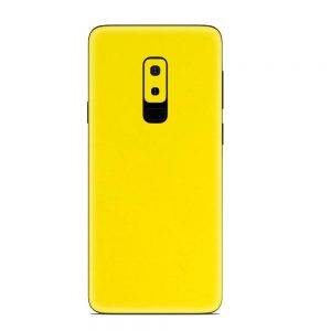 Skin Galben Lucios Samsung Galaxy S9 Plus