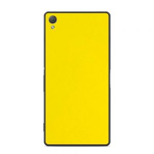 Skin Bumblebee Yellow Sony Xperia Z3