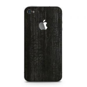 Skin Black Dragonhide iPhone 4 / 4s