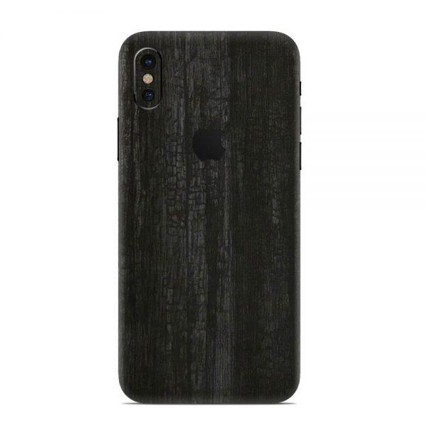 Skin Black Dragonhide iPhone X / Xs / Xs Max
