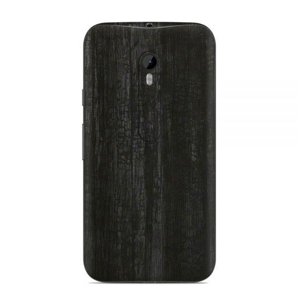Skin Black Dragonhide Motorola G3
