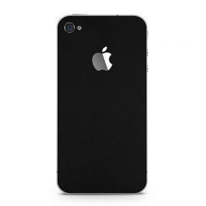 Skin Dead Black Matte iPhone 4 / 4s