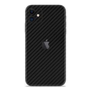 Skin fibra de carbon iPhone 11