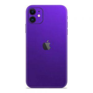 Skin Electric Purple iPhone 11