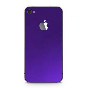 Skin Electric Purple iPhone 4 / iPhone 4s