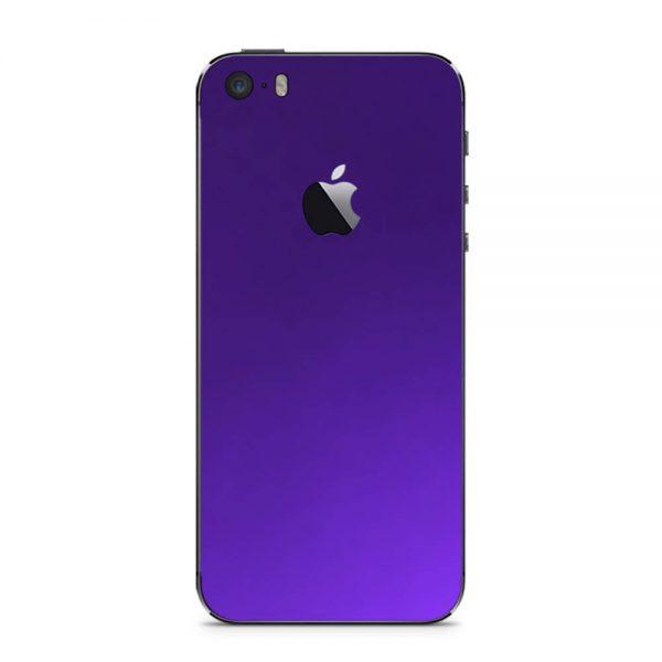 Skin Electric Purple iPhone 5 / iPhone 5s / iPhone SE