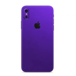 Skin Electric Purple iPhone X / Xs / Xs Max