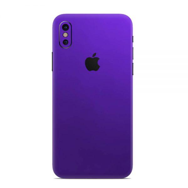 Skin Electric Purple iPhone X / Xs / Xs Max