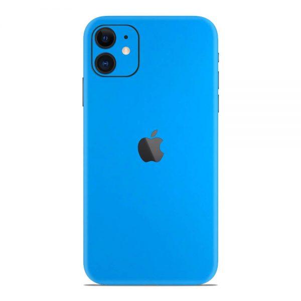 Skin Albastru Riviera Mat iPhone 11