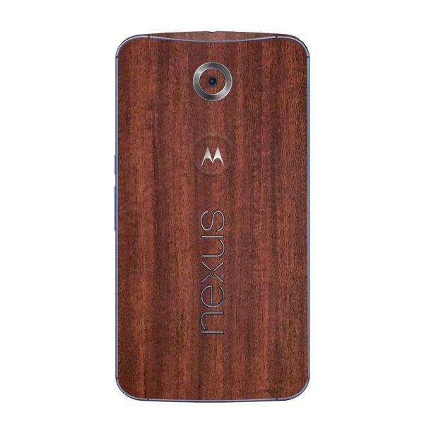 Skin Acajou Google Nexus 6