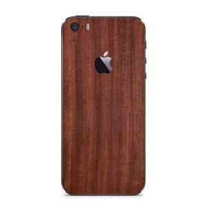Skin Fine Mahogany iPhone 5 / iPhone 5s / iPhone SE