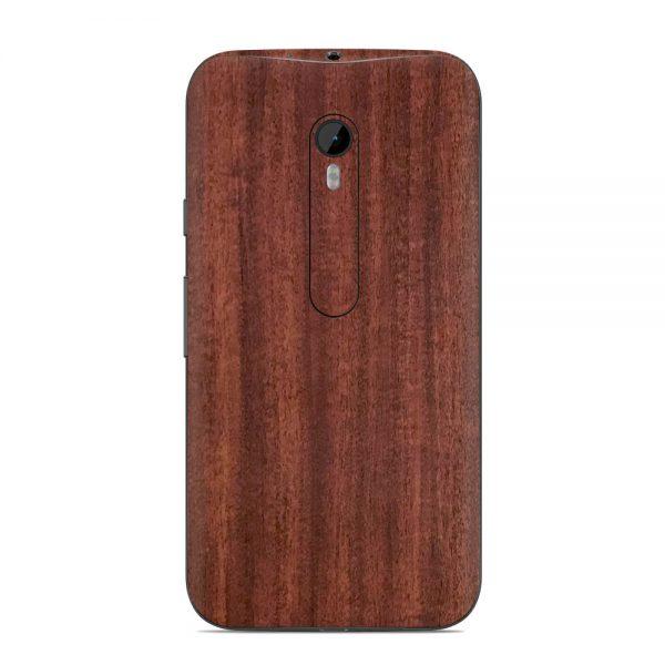 Skin Acajou Motorola G3