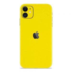 Skin Galben Lucions iPhone 11