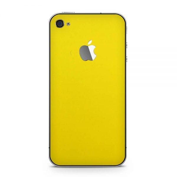 Skin Galben Lucions iPhone 4 / 4s