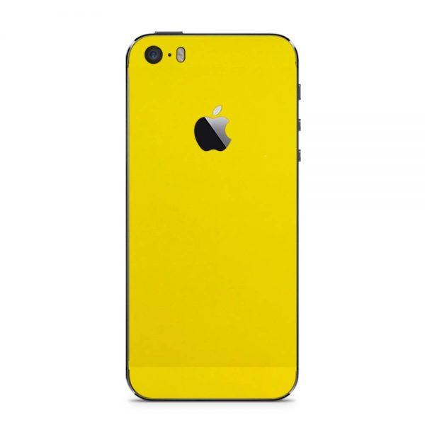 Skin Galben Lucions iPhone 5 / 5s / SE