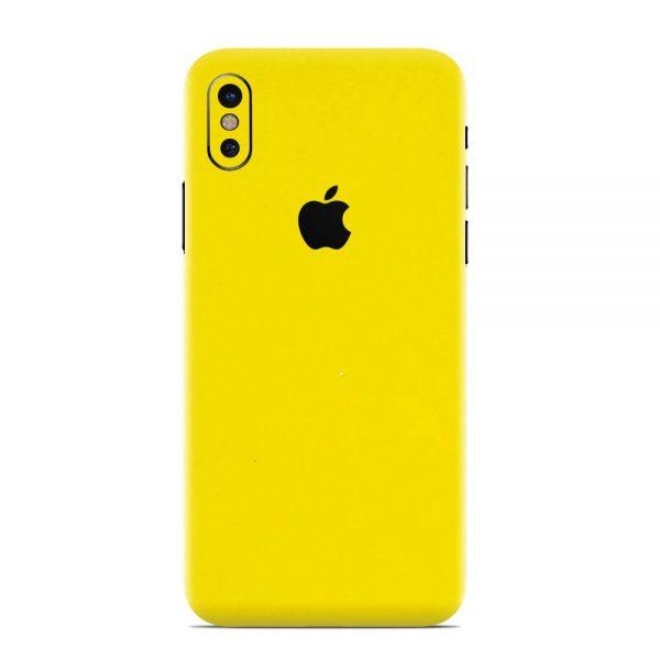 Skin Galben Lucions iPhone X / Xs / Xs Max