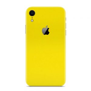 Skin Galben Lucions iPhone Xr